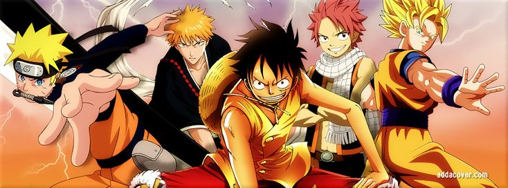 Crossovers - Naruto , One Piece, Bleach, Fairy Tail & Dragon Ball Z