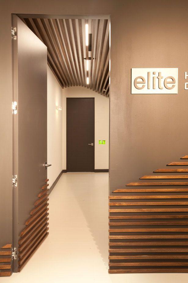 Miami modern scandinavian medical office in 2019 walls - Modern interior wall design ideas ...