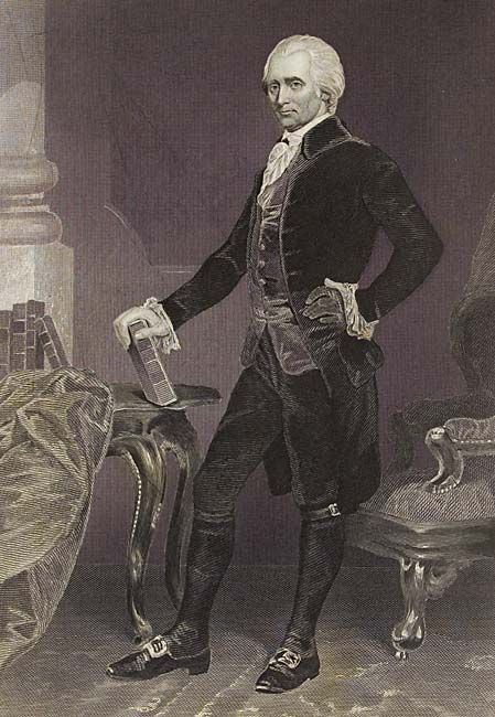Richard Henry Lee, born January 20, 1732, was appointed delegate to the Continental Congress in 1775, and was one of the signers of the Declaration of Independence in 1776.  When the Constitution was laid before Congress, Lee led the opposition to it. His chief concern was that the Convention, called only to amend the Articles of Confederation, had exceeded its powers.  He worried also that the Constitution lacked a bill of rights.