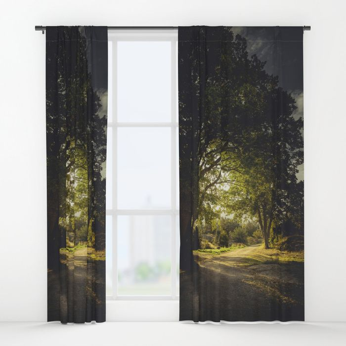 On the road again Window Curtains by HappyMelvin | Society6