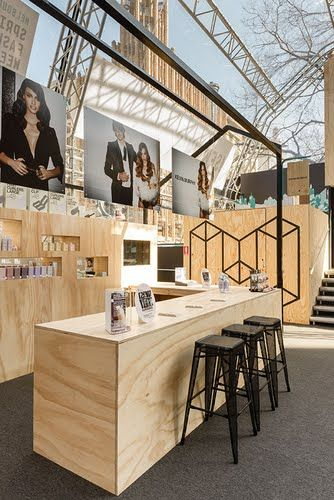 Dot Dot Dash - Kevin Murphy MSFW Activation  #coffee_space  #coffee #restaurant