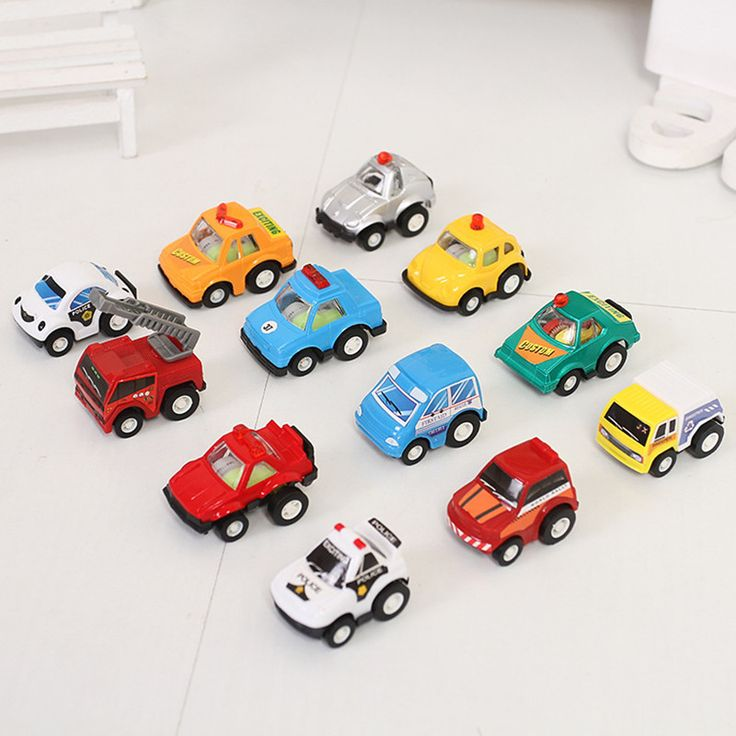 12pcs Mini city car pull back Fire truck engineering vehicles pompieri police cars oyuncak araba baby kids toy  #Affiliate