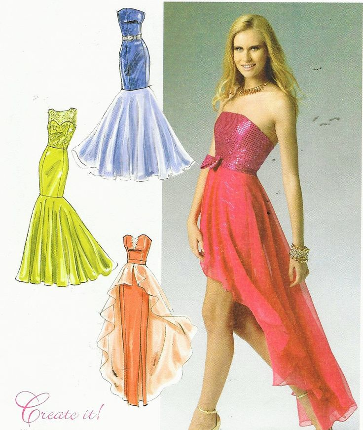 Womens Special Occasion Dress Create Your Own McCalls Sewing Pattern M6838 Size 14 16 18 20 22 Bust 36 to 44 UnCut Prom, Bridal or Evening by CloesCloset on Etsy https://www.etsy.com/listing/240815067/womens-special-occasion-dress-create
