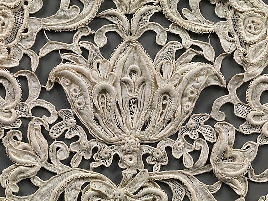 Venetian point lace