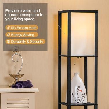 Stunning Best UL Listed V Creative Layers Shelf Floor Lamp Sale Online Shopping