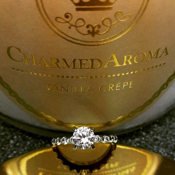 A ring surprised in the heart of every Charmed Aroma candle! Candles are $25 each.
