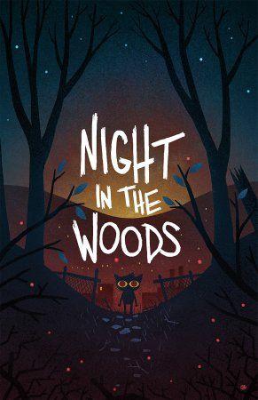 Resultado de imagen para night in the woods art