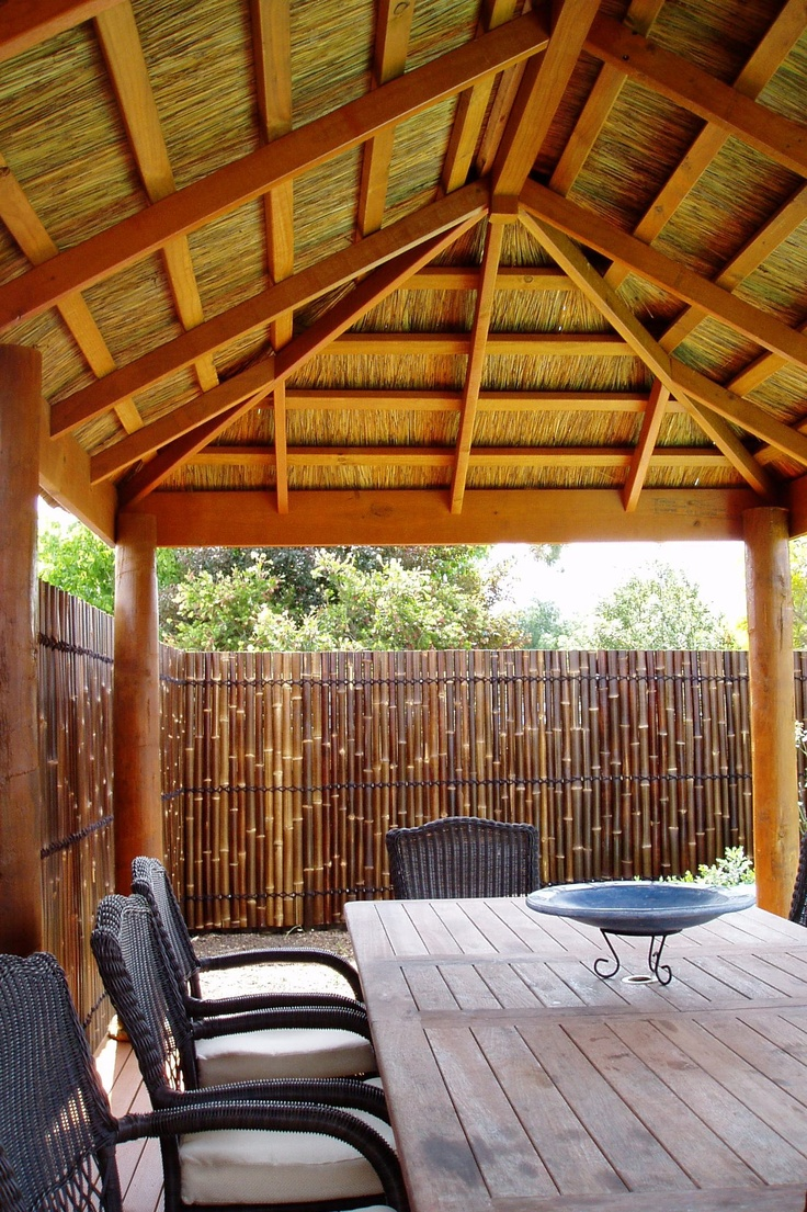 Bali Huts available from Matt's Homes and Outdoor Designs, Bayswater, Melbourne.