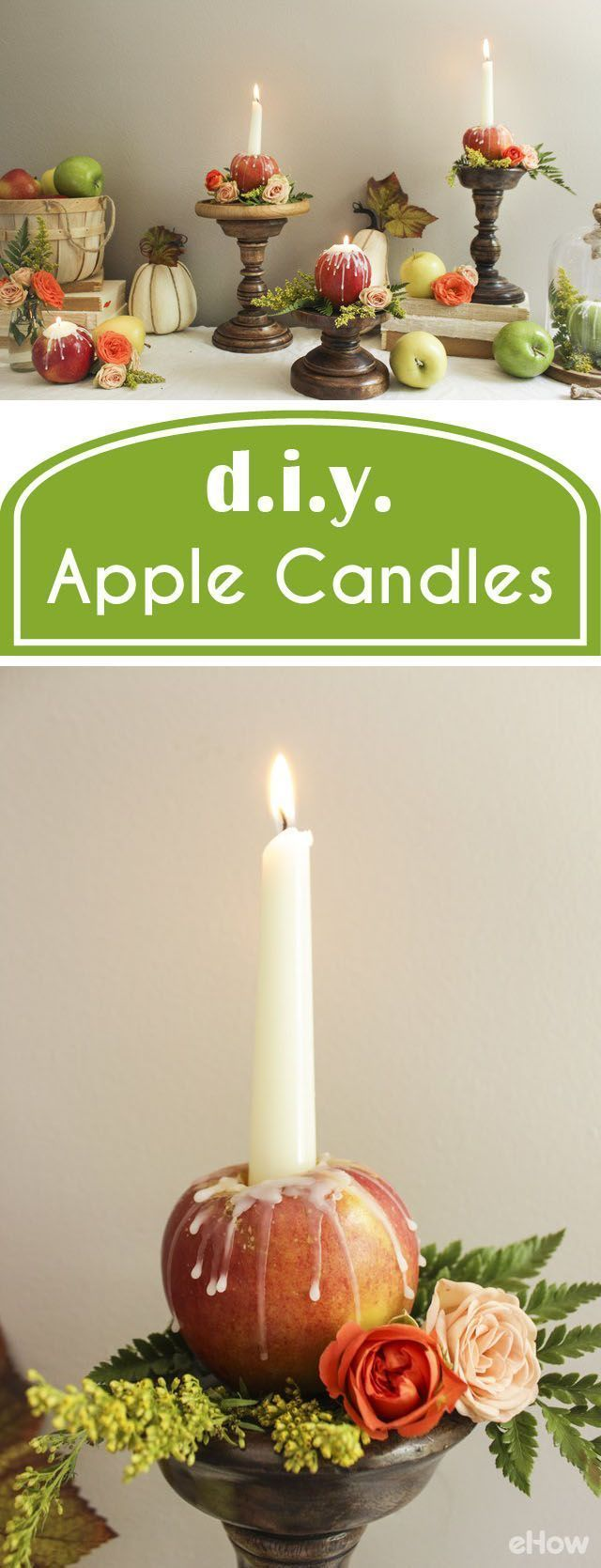 How to dress an apple shaped figure ehow - How To Make Apple Candles
