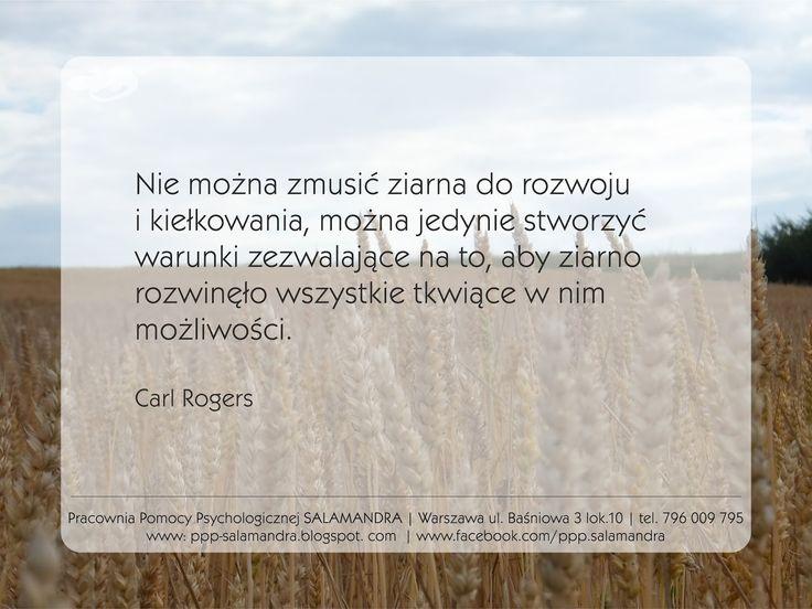 Dobry psycholog Warszawa o humanistycznym rozumieniu rozwoju.