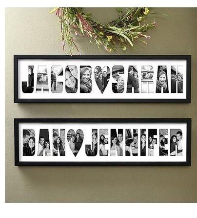 Love this photo frame idea