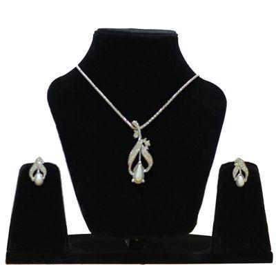 Buy Anjalika Silver Pendant Set by Anjalika, on Paytm, Price: Rs.510?utm_medium=pintrest