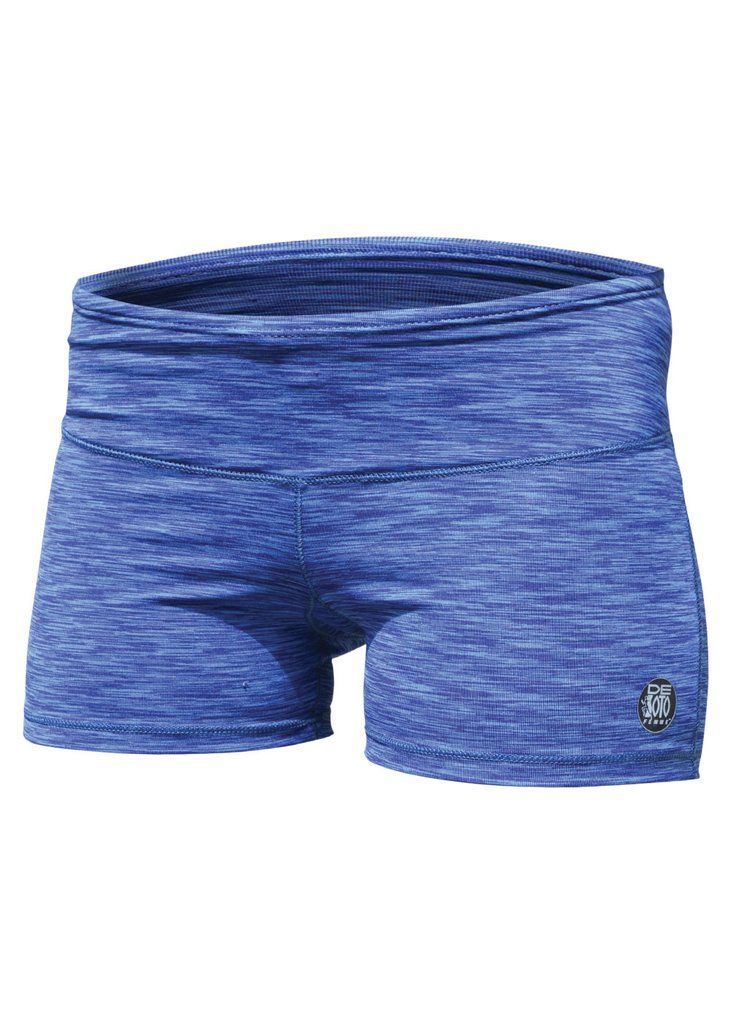 """De Soto Sport Women's Run Short 2018 – De Soto Sport - Women's Run Short 2018   • Super-soft yet highly technical fabric • Center back pock to store your running essentials * Wide, super comfortable waistband with an adjustable drawcord, no leg gripper (which eliminates the potential """"squeeze"""" effect – length is long enough not to creep – tested!), and a gusset for freedom of movement on the run  Click into the product to see more features, colors available and sizing guidance."""