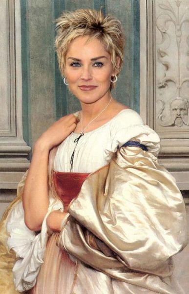 Renaissance ancestors of celebrities - Sharon Stone
