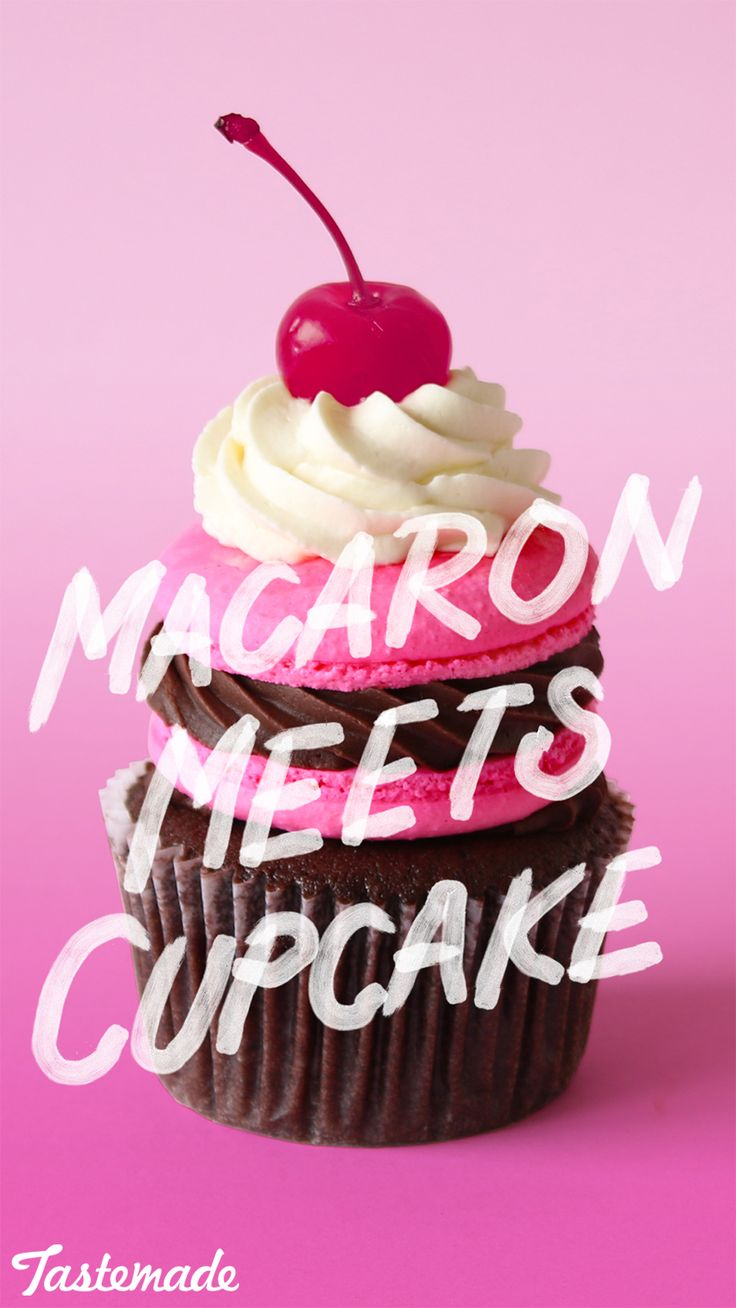 With this chocolatey treat, you'll never have to pick between a cupcake and macaron again.