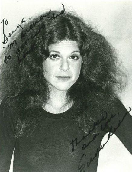 Gilda Radner    Rosanna Rosanna Danna....funniest lady!