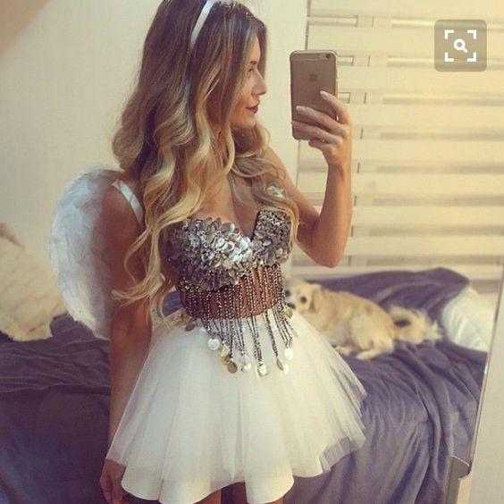 Engel Kostüm selber machen | Kostüm Idee zu Karneval, Halloween & Fasching