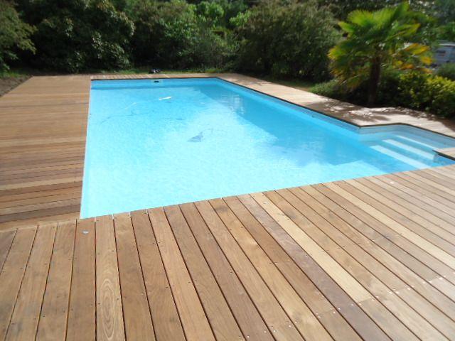 tour de piscine en Ipé