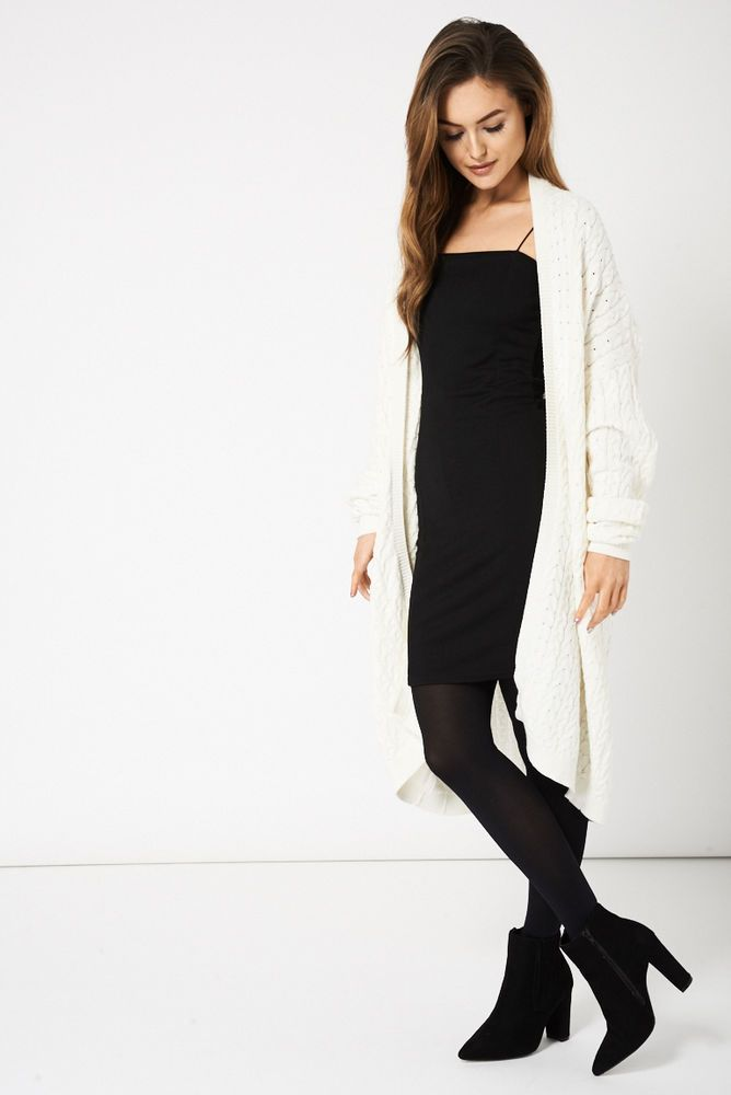 CREAM BOYFRIEND STYLE CABLE KNIT CARDIGAN This ones in the sale!!
