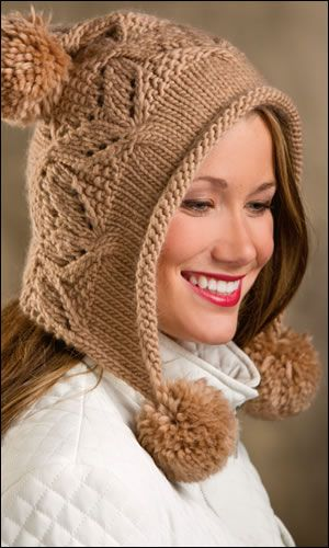 Mocha Hoodie Hat featured in the Winter 2013 issue of Creative Knitting. Order a download of the issue here: http://www.anniescatalog.com/detail.html?code=AM11208