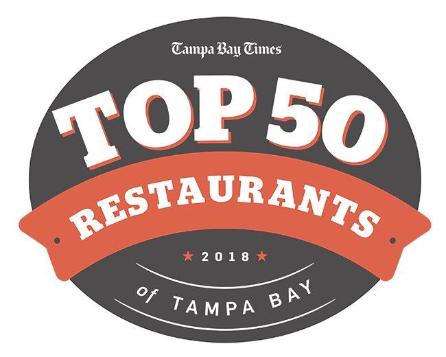 Top 50 Restaurants of Tampa Bay — 2018 Edition