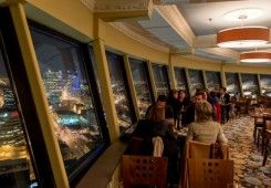 Dinner with a 360-degree view! Enjoy local fare while wining and dining in the sky with a $100 gift certificate to Winnipeg's only revolving restaurant, Prairie 360! Win your Winnipeg adventure including flight, hotel and an adventure YOU choose! Visit http://www.tourismwinnipeg.com/pin-and-winnipeg to enter!