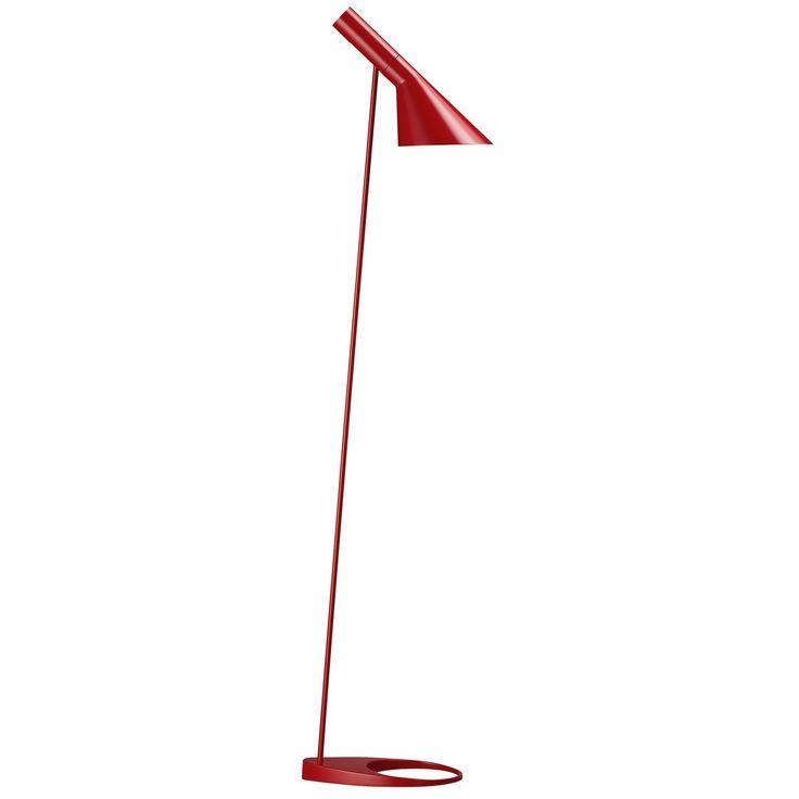 AJ golvlampa, röd i gruppen Belysning / Lampor / Golvlampor hos RUM21.se (105781)