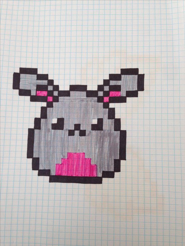 Милые картинки для срисовки карандашом по клеточкам