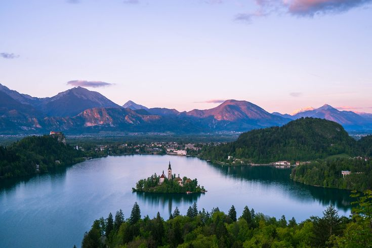 If you're hoping to see one of Central Europe's most iconic views, try the Ojstica hike in Lake Bled, Slovenia. Hiking to Ojstrica is well worth the trek!