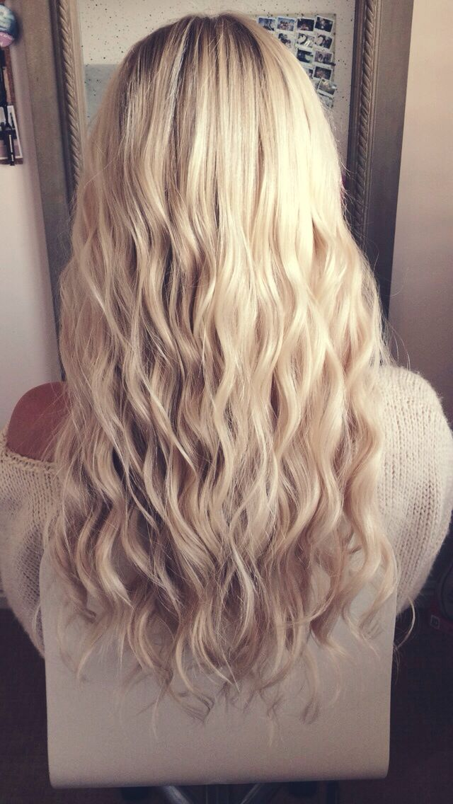 This is exactly what I want. I'm having trouble finding this type of perfect curl on brown hair but if this was my perm, I would be happy!
