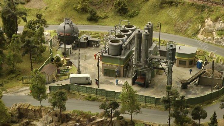 Eine der größten Modelleisenbahnanlagen von Märklin in Deutschland