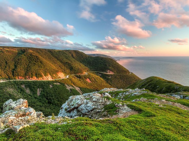 Cape Breton Highlands National Park, Nova Scotia - In a national park system full of superlatives, Cape Breton still remains a…