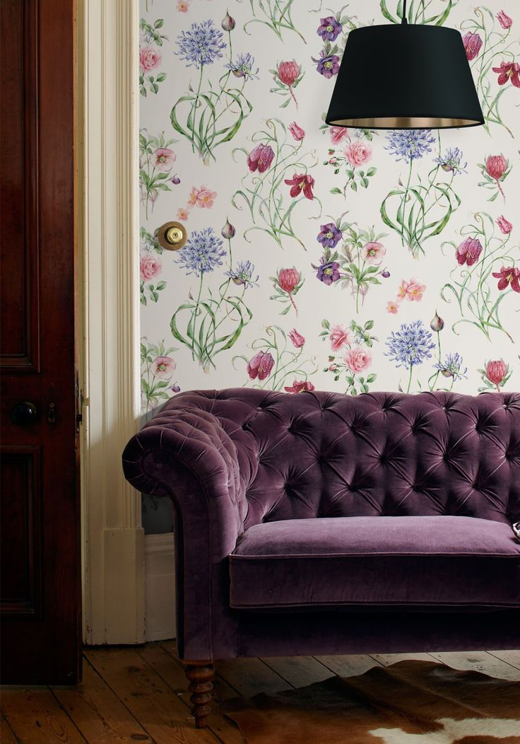 Superior This Bright And Beautiful Flower Motif Wallpaper, From Natalia, Was  Inspired By An 18th Great Pictures