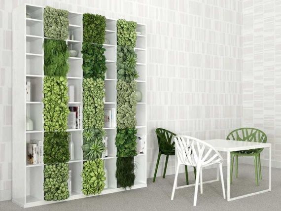 вертикальный сад озеленение 2