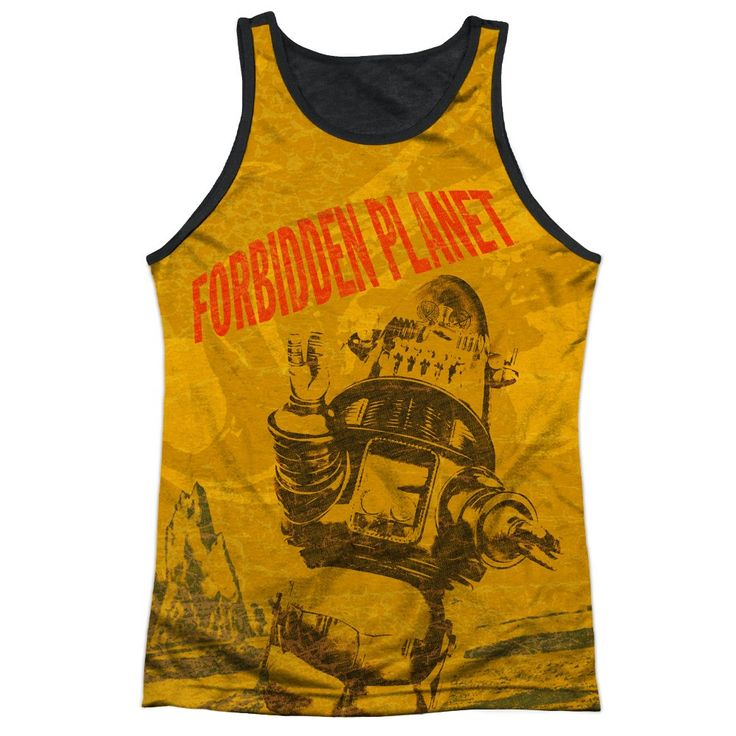 "Checkout our #LicensedGear products FREE SHIPPING + 10% OFF Coupon Code ""Official"" Forbidden Planet/strang World-adult Poly Tank Top T- Shirt - Forbidden Planet/strang World-adult Poly Tank Top T- Shirt - Price: $24.99. Buy now at https://officiallylicensedgear.com/forbidden-planet-strang-world-adult-poly-tank-top-t-shirt-licensed"