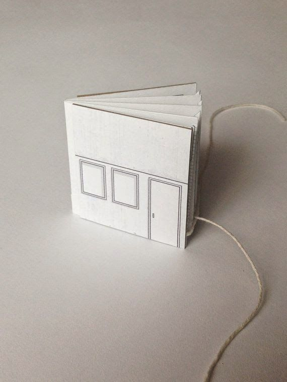 Pipsawa makes gorgeous popup books - this one opens up into a house