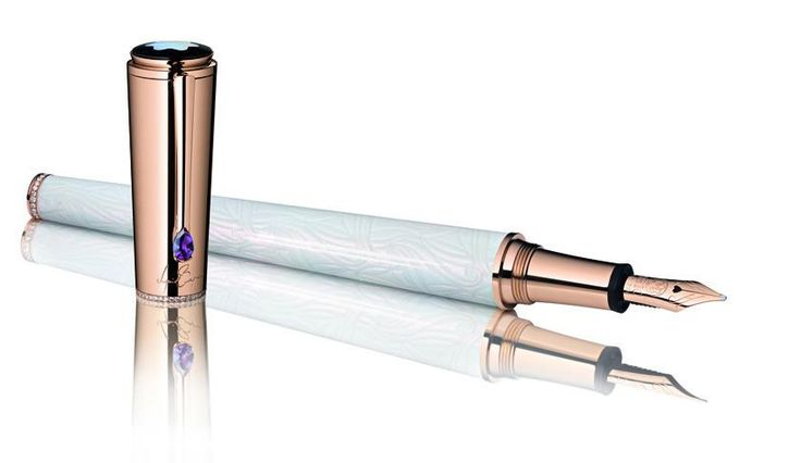 Another stunning and elegant piece of craftsmanship from Montblanc. Make sure you take a look at our Montblanc page http://luxworldwide.com/az-of-companies/m/montblanc/