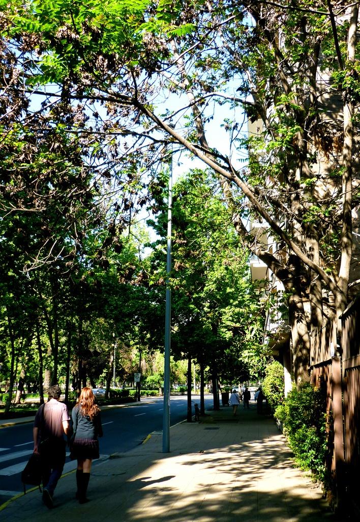 Lastarria, Santiago de Chile.