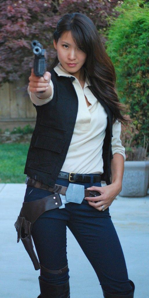 Female Han Solo Cosplay