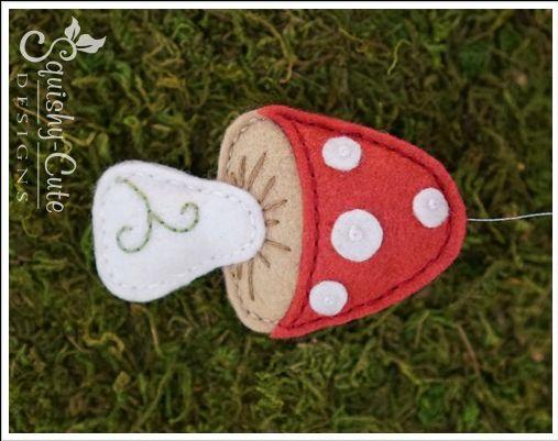 2015/10/05 free felt mushroom pattern