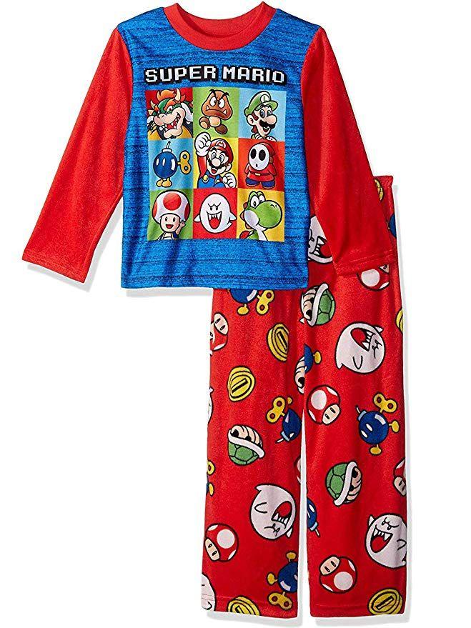 Super Mario Boys Long Sleeved Top