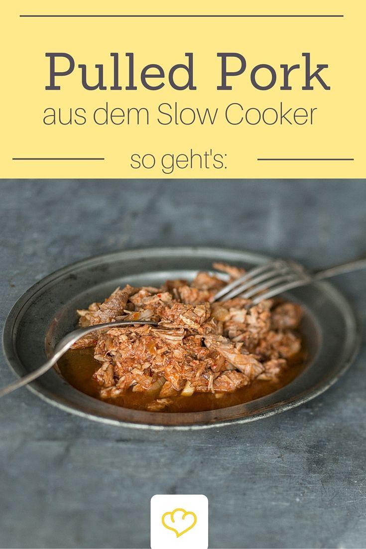 Pulled Pork - ein Gericht wie gemacht für den Slow-Cooker. Ganz gleich ob im Burger oder zur Pasta - Pulled Pork ist einfach immer ein Genuss!