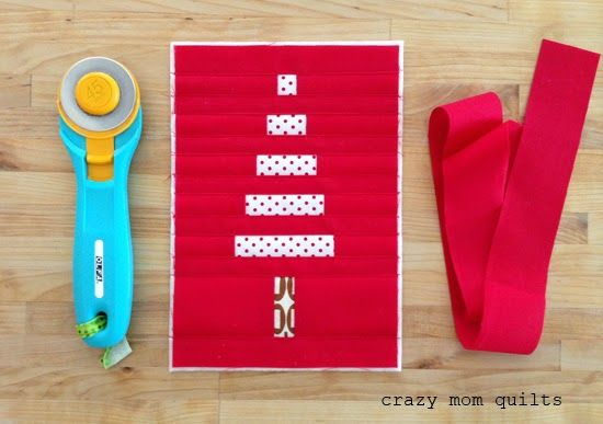 How to bind tiny things...from crazymomquilts