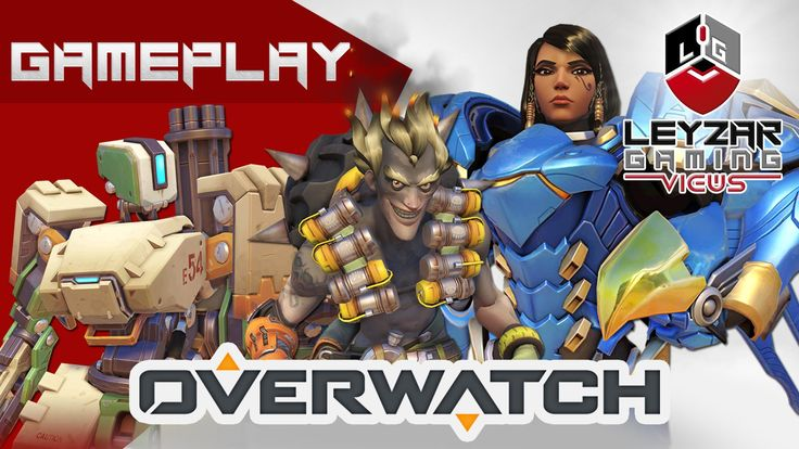 Overwatch Gameplay - Competitive Play Ranked Gameplay (Pharah, Junkrat, ...