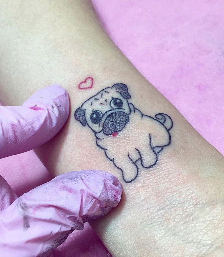 The 100 Best Dog Tattoos Of All Time Dog Tattoos Pug Tattoo