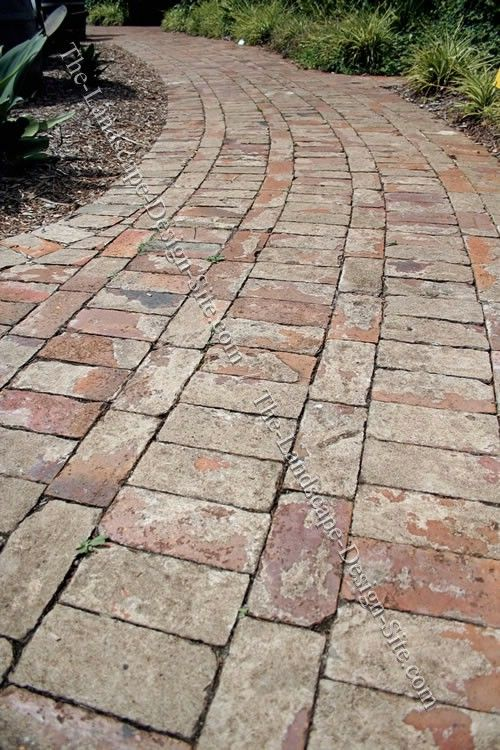 Sidewalk Design Ideas 1000 ideas about stone walkways on pinterest walkway ideas walkways and backyard landscaping Brick Path