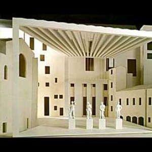 tettoia Isozaki uffizi Firenze