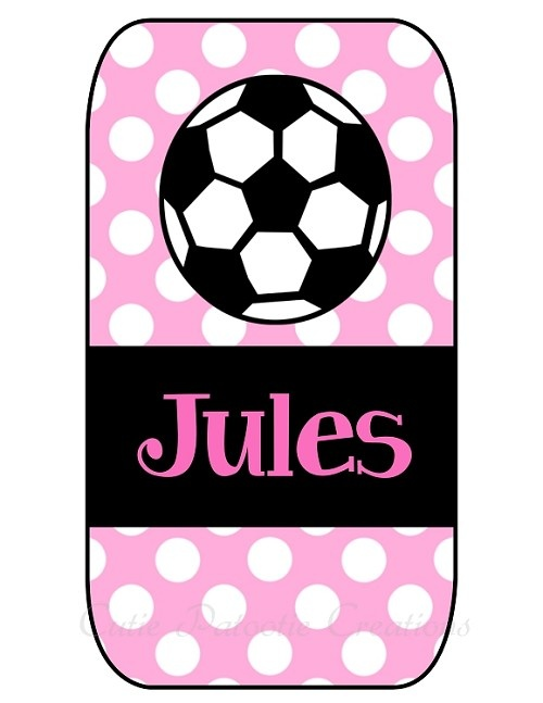 iphone 4s cases for girls personalized iphone cover soccer balls 17348