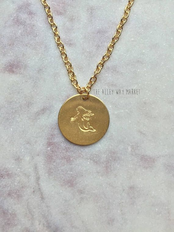 Mermaid Jewelry Mermaid Necklace Mermaid Charm Charm
