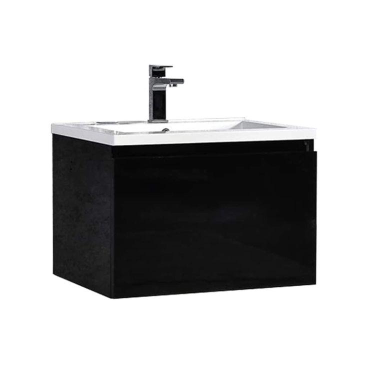 Best 25 floating bathroom vanities ideas on pinterest for Floating pedestal sink